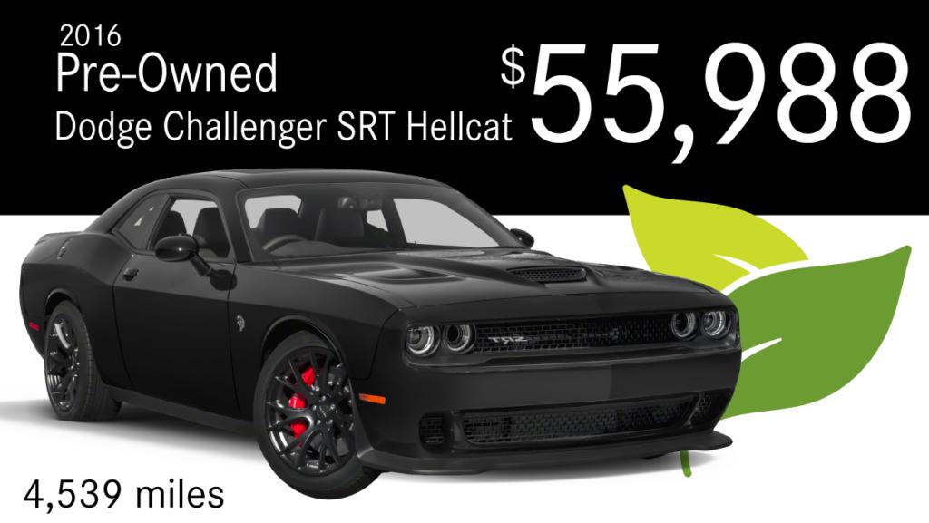 2015 Pre-Owned Dodge Challenger SRT Hellcat