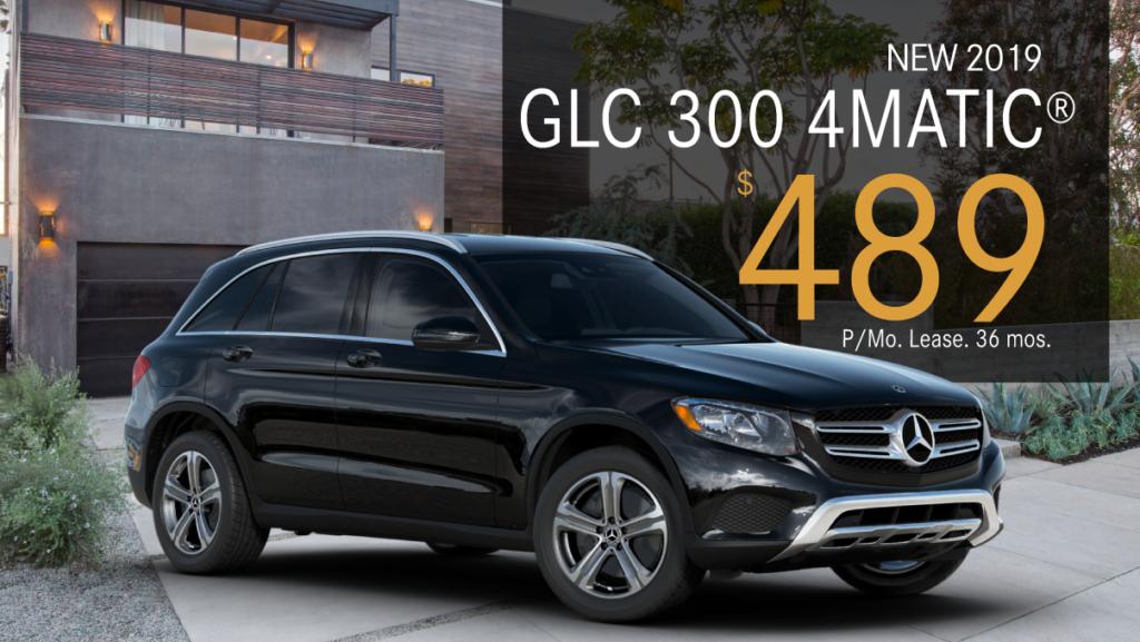New 2019 GLC 300 4Matic®