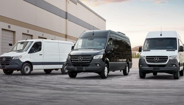 Mercedes-Benz Sprinter Models