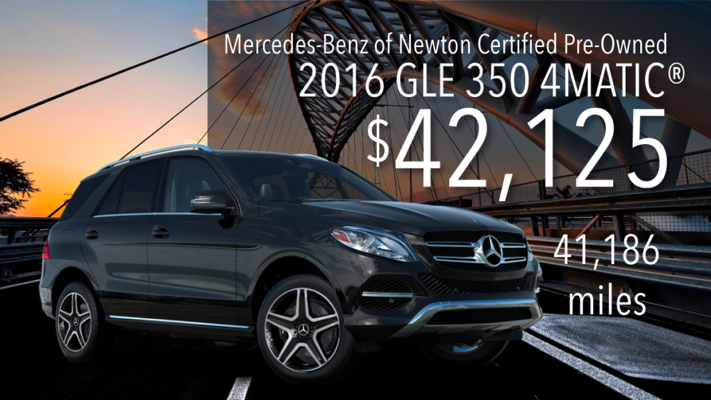 Certified Pre-Owned 2016 GLE 350 4MATIC®