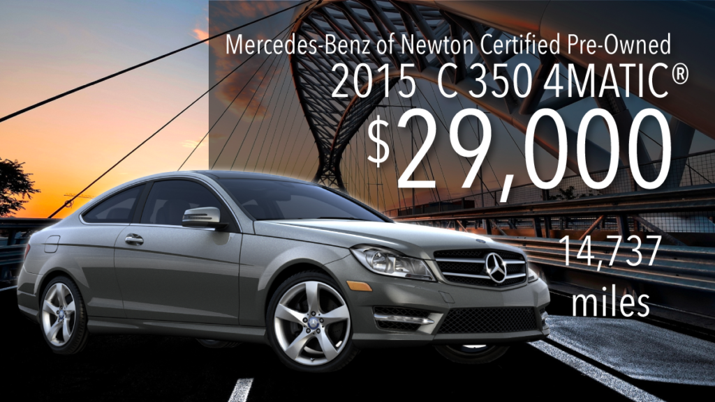 Certified Pre-Owned 2015 C 350 4MATIC®