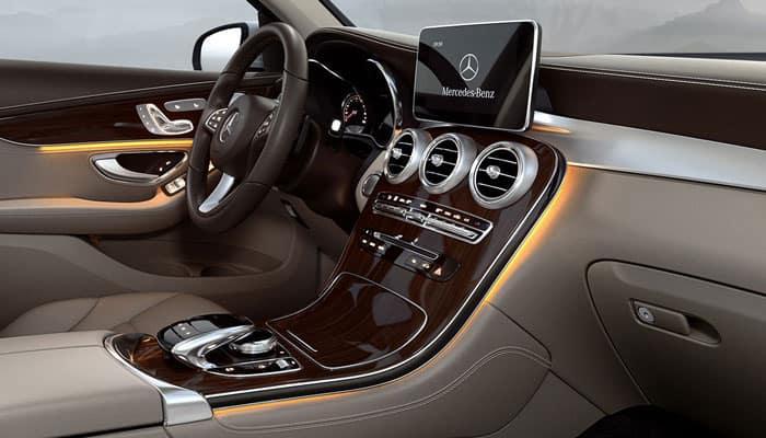 2019 Mercedes Benz Interior Passenger View