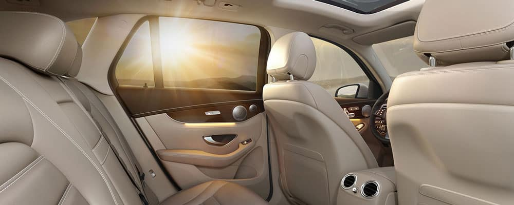 2019 Mercedes Benz Interior Rear View