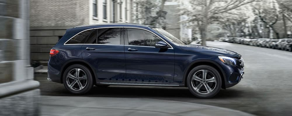 2019 Mercendes-Benz GLC SUV Driving in Street