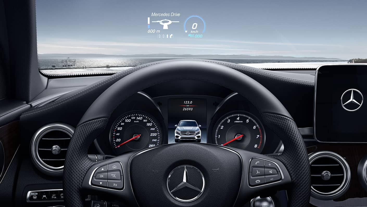 2019 Mercedes-Benz GLC Coupe Interior Features