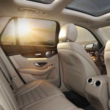 2019 Mercedes-Benz GLC SUV Rear Seating