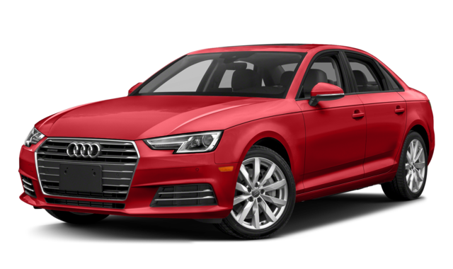 2018 audi a4 red