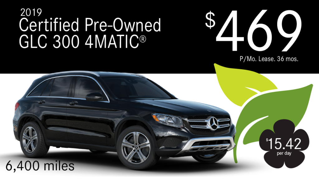 Certified Pre-Owned 2019 GLC 300 4MATIC®