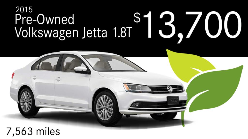 2015 Pre-Owned Volkswagen Jetta 1.8T