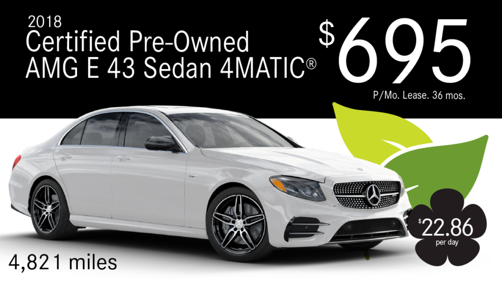Certified Pre-Owned 2018 E43 AMG 4MATIC®