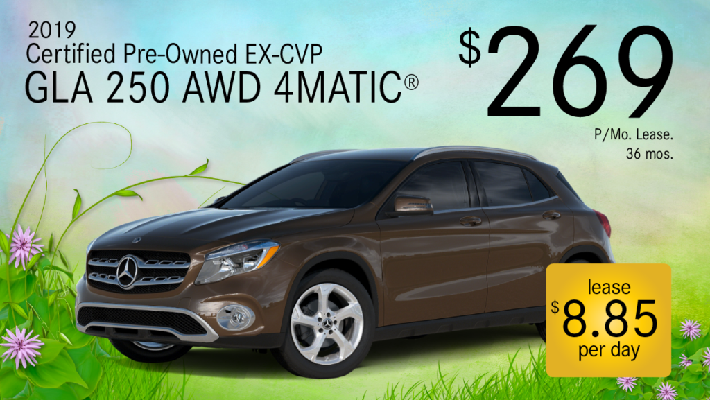 Certified Pre-Owned 2019 GLA 250 4MATIC®