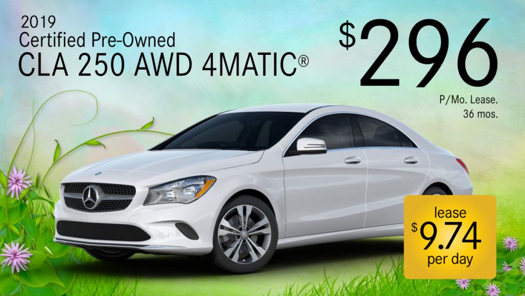 Certified Pre-Owned 2019 CLA 250 4MATIC®
