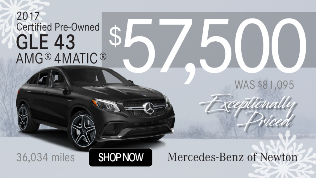 Certified Pre-Owned 2017 AMG® GLE43 4MATIC®