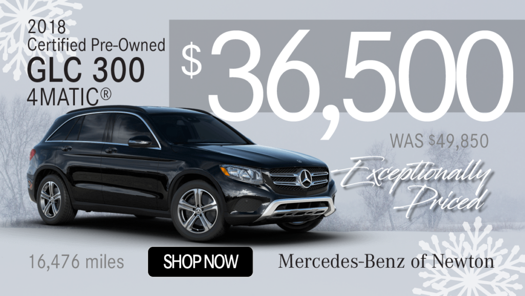 Certified Pre-Owned 2018 GLC 300 4MATIC®