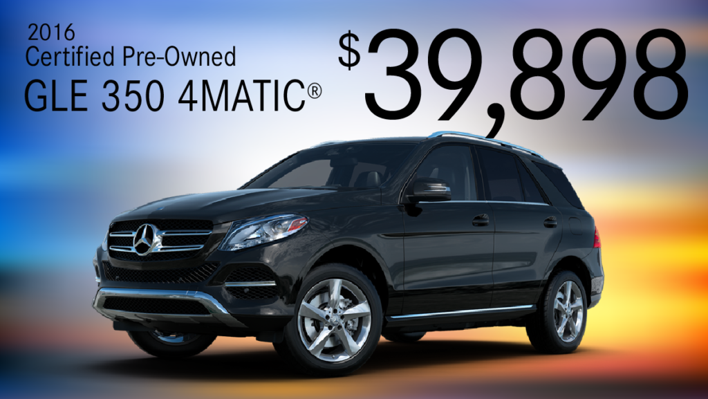 Certified Pre-Owned 2017 GLE 350 AWD 4MATIC®
