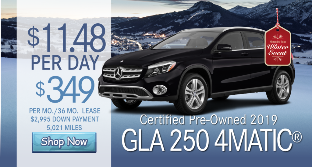 Certified Pre-Owned 2019 GLA 250 AWD 4MATIC®