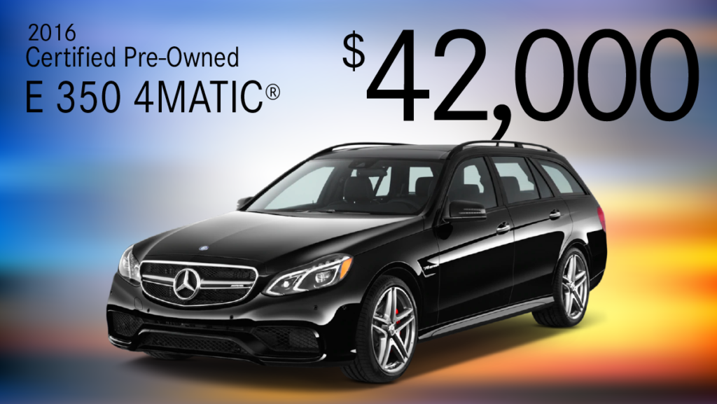 Certified Pre-Owned 2016 E 350 Sport All Wheel Drive 4MATIC® Wagon