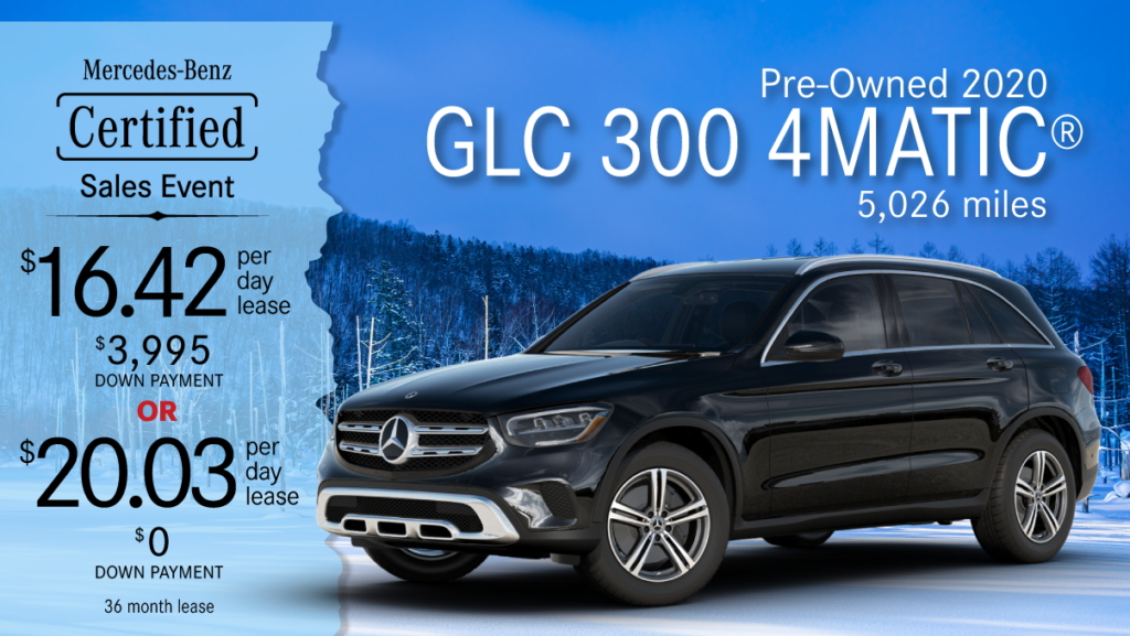 2020 Ex-Courtesy GLC 300 4MATIC®