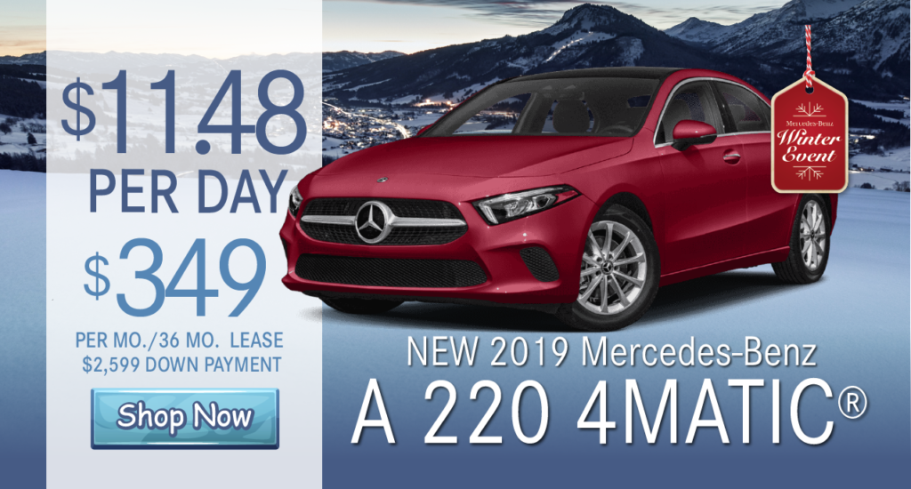 New 2019 A 220 AWD 4MATIC®
