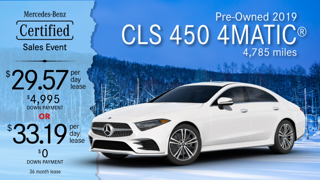 2019 Ex-Courtesy CLS 450 4MATIC®