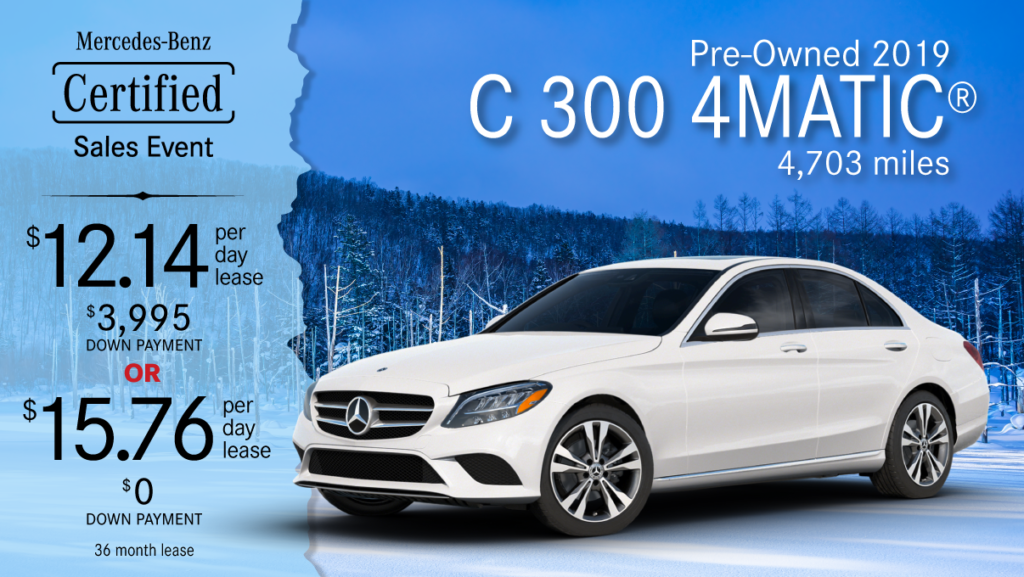 2019 Ex-Courtesy C 300 4MATIC®