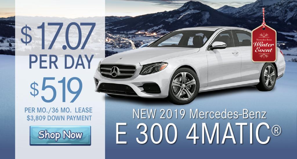 2019 E 300 All Wheel Drive 4MATIC®