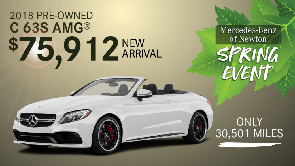 Pre-Owned 2018 C63S Convertible AMG®