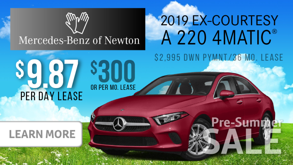 2019 Ex-Courtesy A220 4MATIC®
