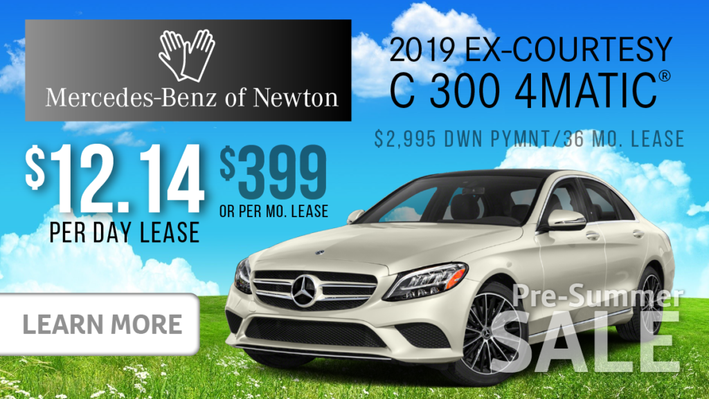 2019 Ex-Courtesy C300 4MATIC®