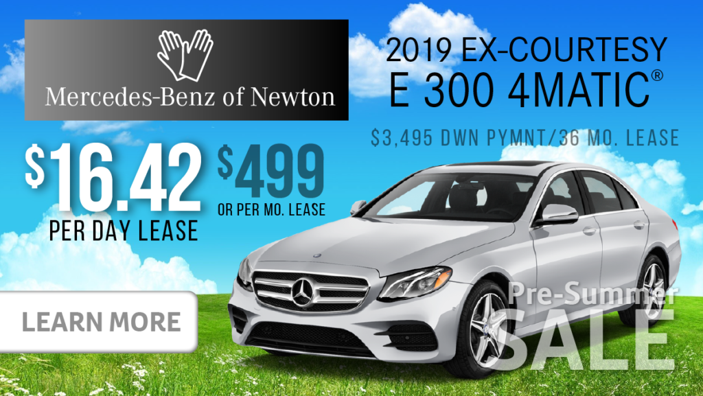 2019 Ex-Courtesy E300 4MATIC®
