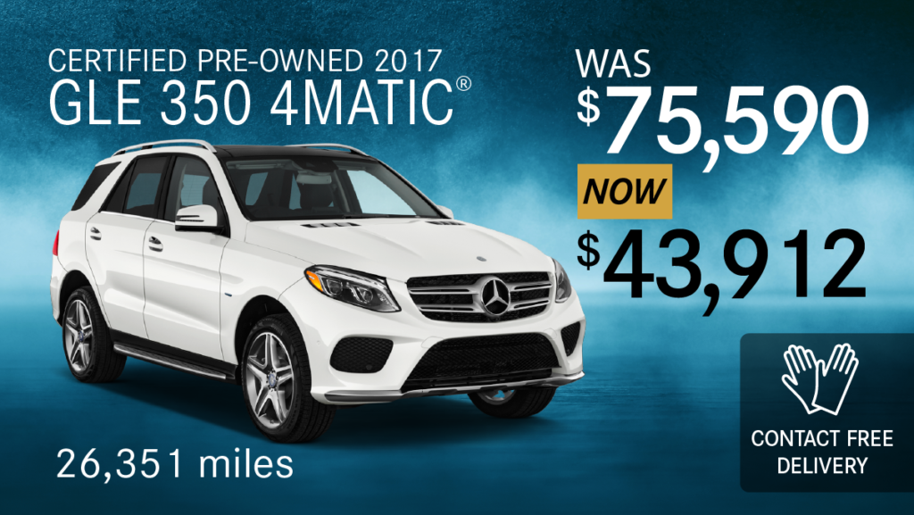 Certified Pre-Owned 2017 GLE 350 4MATIC®