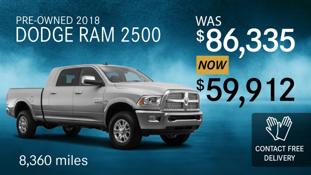 Pre-Owned 2018 Dodge Ram 2500 Laramie