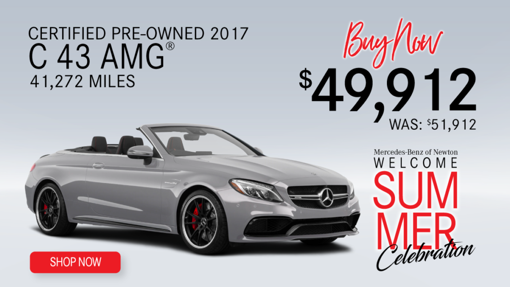 Certified Pre-Owned 2017 C 43 AMG®