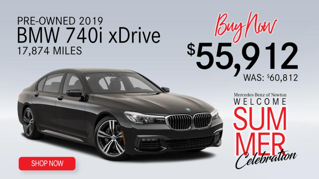 Pre-Owned 2019 BMW 740i xDRIVE