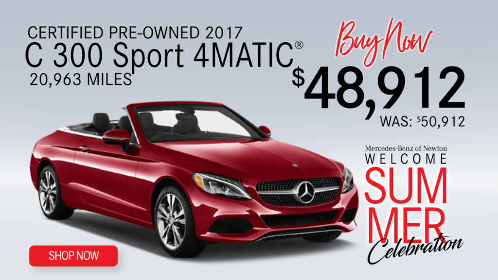 Certified Pre-Owned 2017 C300 Sport 4MATIC®