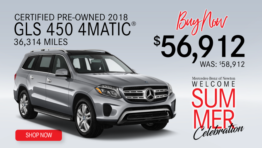Certified Pre-Owned 2018 GLS 450 4MATIC®