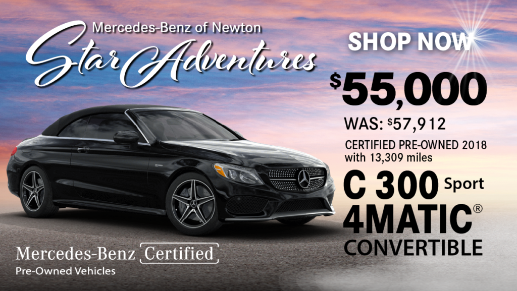 Certified Pre-Owned 2018 C 300 Sport 4MATIC®