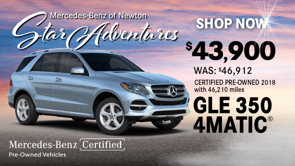 Certified Pre-Owned 2018 GLE 350 4MATIC®