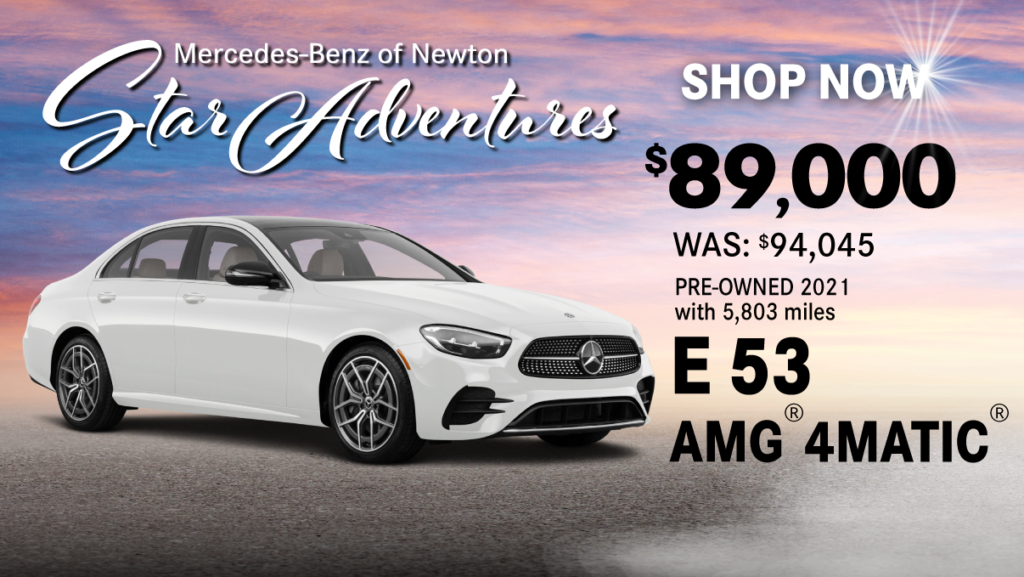 Pre-Owned 2021 E 53 AMG® 4MATIC®