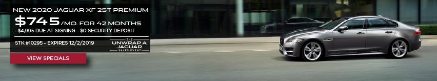 New 2020 Jaguar XF 25t PREMIUM