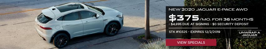 New 2020 Jaguar E-PACE AWD
