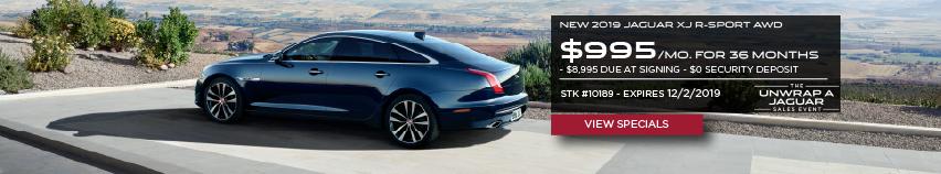 New 2019 Jaguar XJ R-SPORT AWD