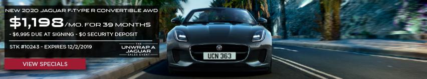 New 2020 Jaguar F-TYPE R Convertible AWD