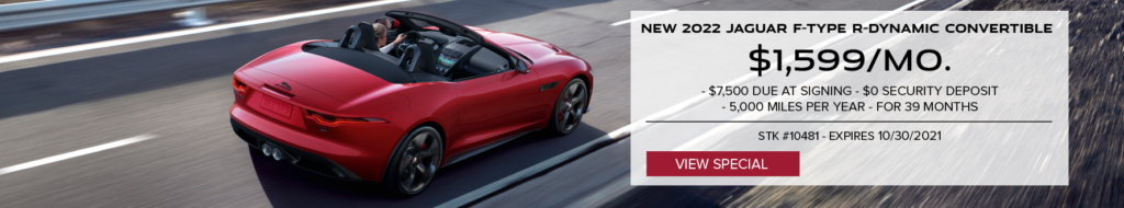 New 2022 F-TYPE R-Dynamic Convertible