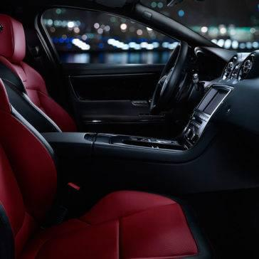 2017 Jaguar XJ Front Interior Seating
