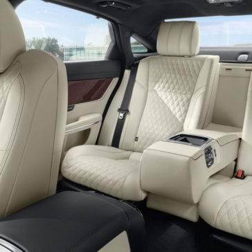 2017 Jaguar XJ Rear Interior Seating