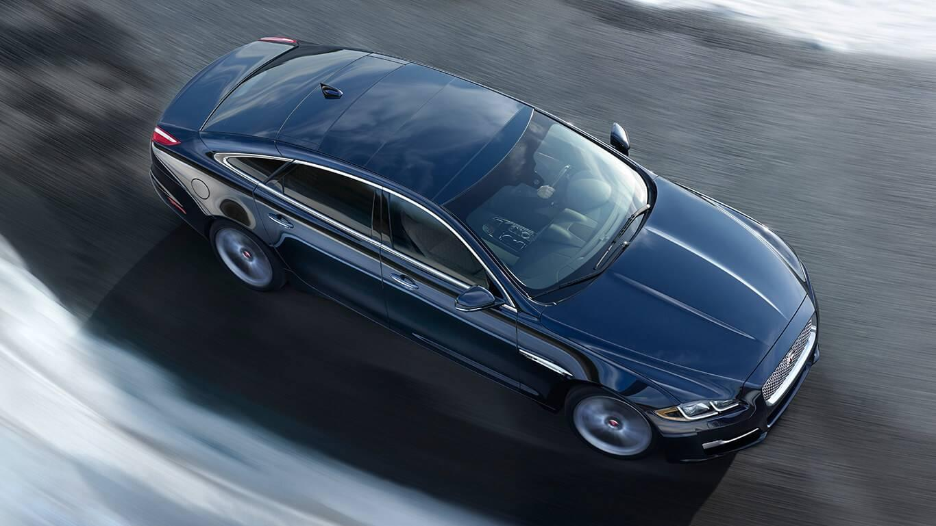 2017 Jaguar XJ Top View