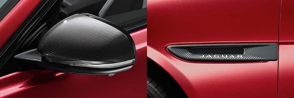 Jaguar XE Carbon Fiber Accessories