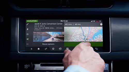 Jaguar XF Navigation