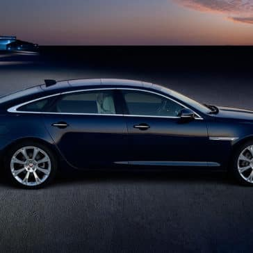 2018 Jaguar XJ side view